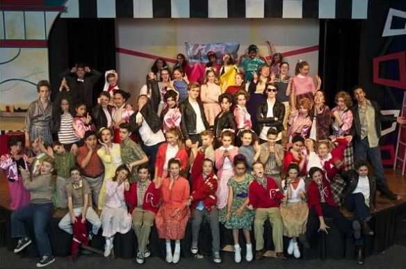 Cast of Grease 2013