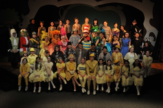 Amazing Seussical Performance Fall 2014.